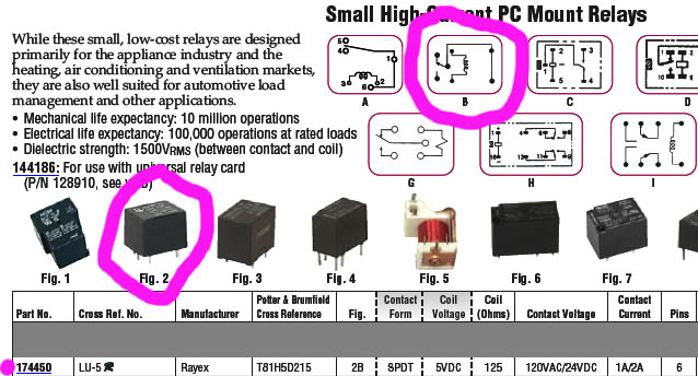 ninevolts dc motor different manufacturers and models of relays have different wiring schematics
